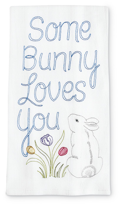 7738: Some Bunny Towel (Product Detail)