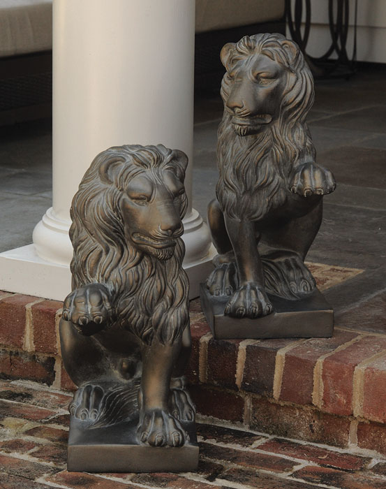 7743: Lions (Set of Two) (Product Detail)