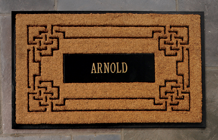 7555: Personalized Doormat (Product Detail)