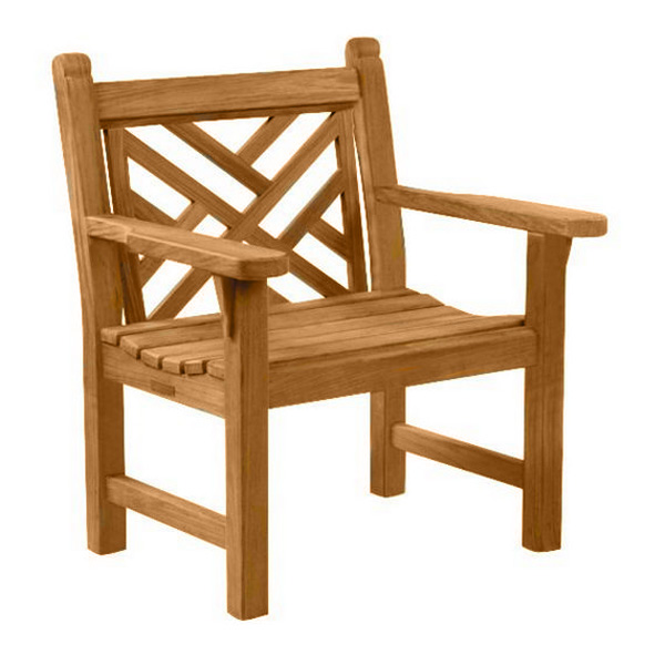7801: Chippendale Chair/Teak (Product Detail)