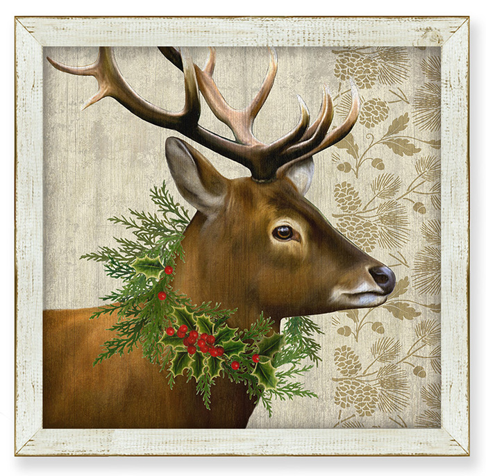 7850: Woodland Life Deer Wall Art (Product Detail)