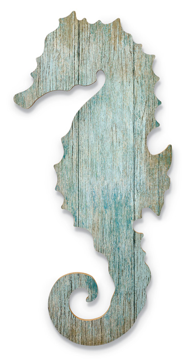 7861: Seahorse Wall Art - Right (Product Detail)