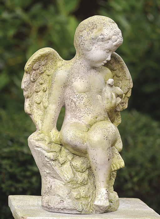 7748: Angel with Bird (Product Detail)