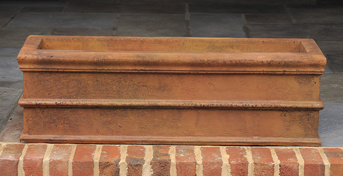 7764: Trough/Rust - Small (Product Detail)