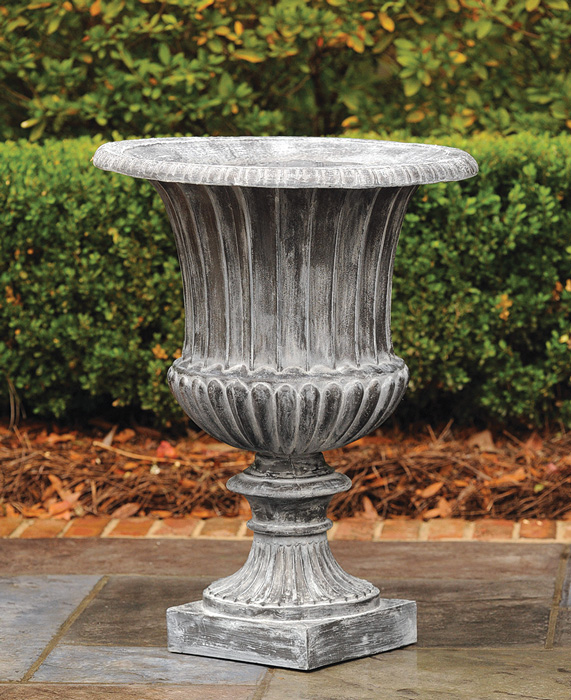 7902: Classic Fluted Urn - Large (Product Detail)