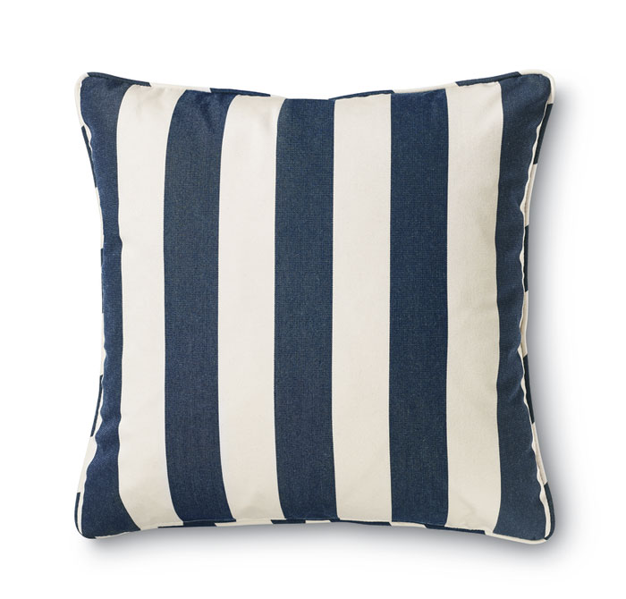 7950: Outdoor Striped Pillow (Product Detail)