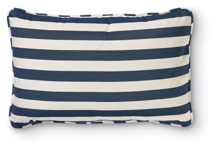 7951: Outdoor Striped Lumbar Pillow (Product Detail)