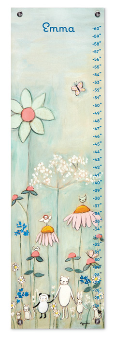 8208: Growth Chart - Wildflowers  (Product Detail)