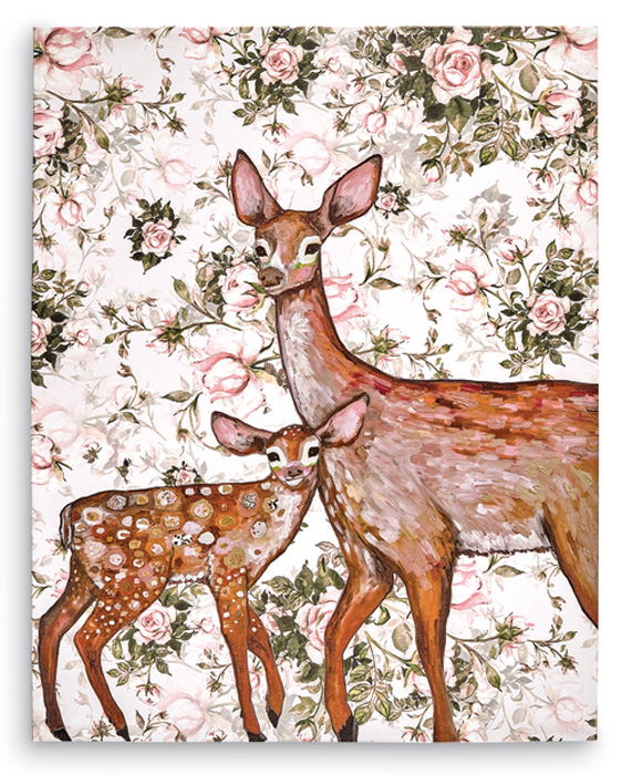 8204: Deer and Fawn Wall Art (Product Detail)