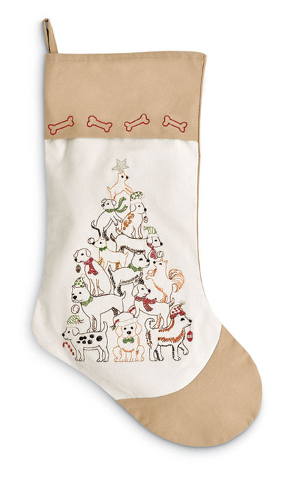 8155: Dogs Stocking  (Product Detail)