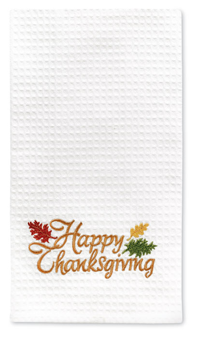 7994: Happy Thanksgiving Towel (Product Detail)