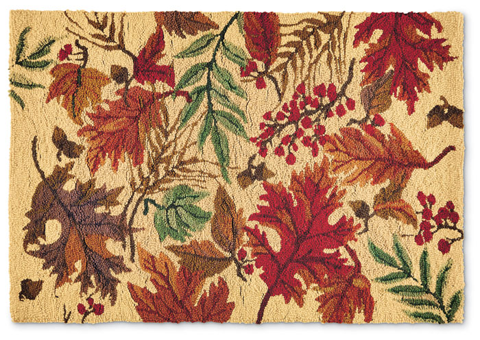 8211: Autumn Leaves Rug (Product Detail)