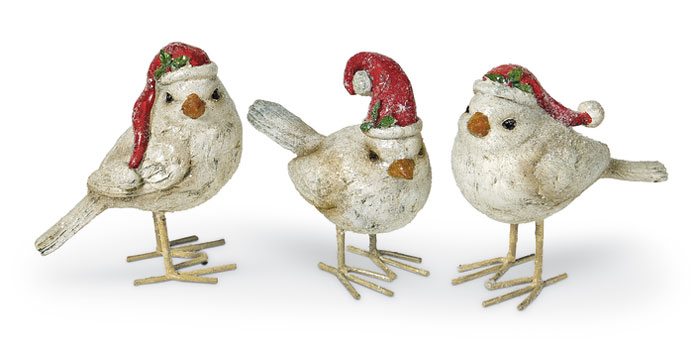 8117: North Pole Birds (Set of Three) (Product Detail)