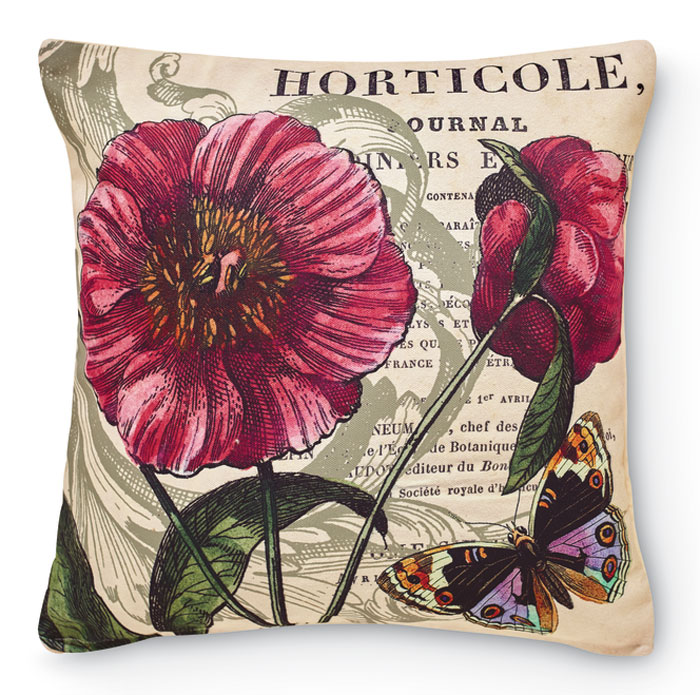 8315: Butterflies and Blossoms II Pillow (Product Detail)