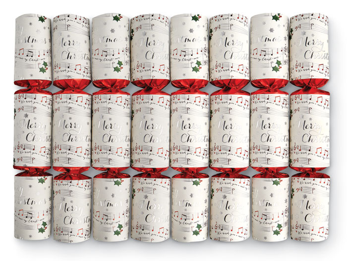 8162: Musical Chimes Crackers (Set of Eight)  (Product Detail)