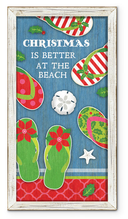 """8348: """"Christmas Is Better"""" Wall Art (Product Detail)"""
