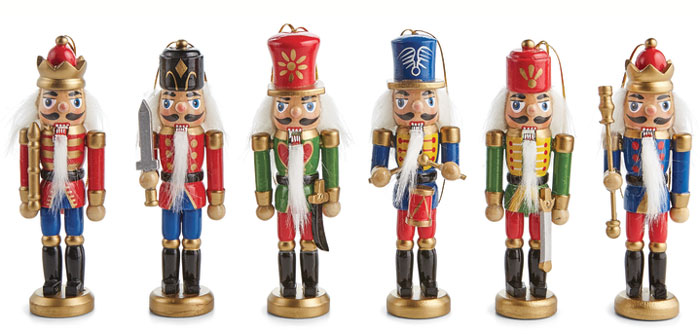 7971: Nutcracker Ornaments (Set of Six) (Product Detail)