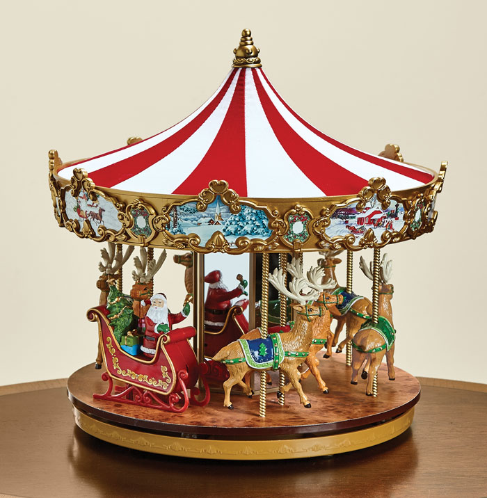 8225: Very Merry Carousel (Product Detail)