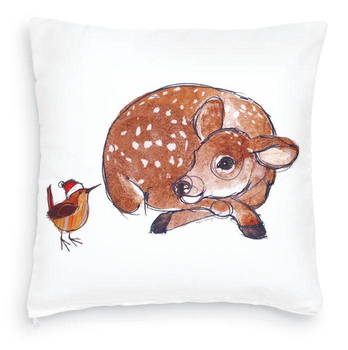 8386: Wren and Fawn Pillow (Product Detail)
