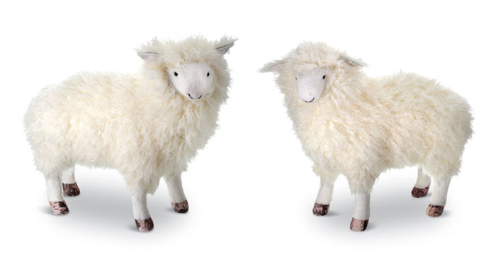 8450: Springtime Sheep (Set of Two) (Product Detail)
