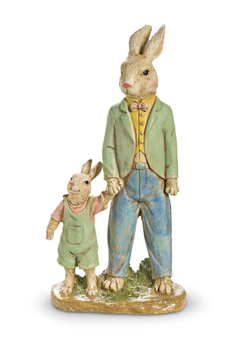 8443: Father Rabbit with Son (Product Detail)
