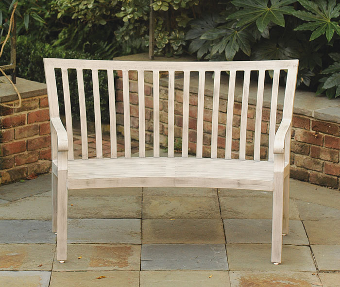 8601: Cortland Bench with Weathered Finish (Product Detail)