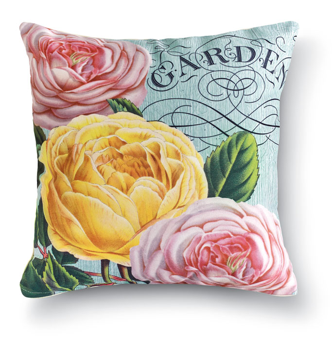 8676: Roses I Pillow (Product Detail)