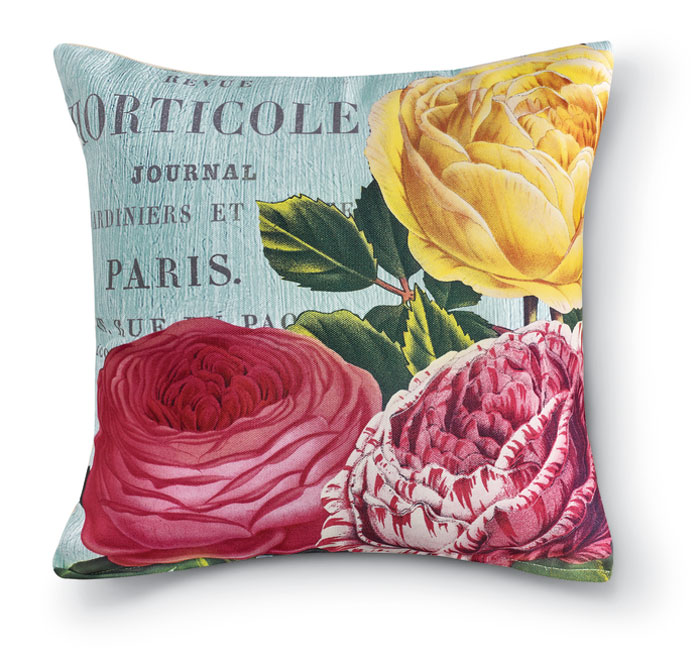 8677: Roses II Pillow (Product Detail)