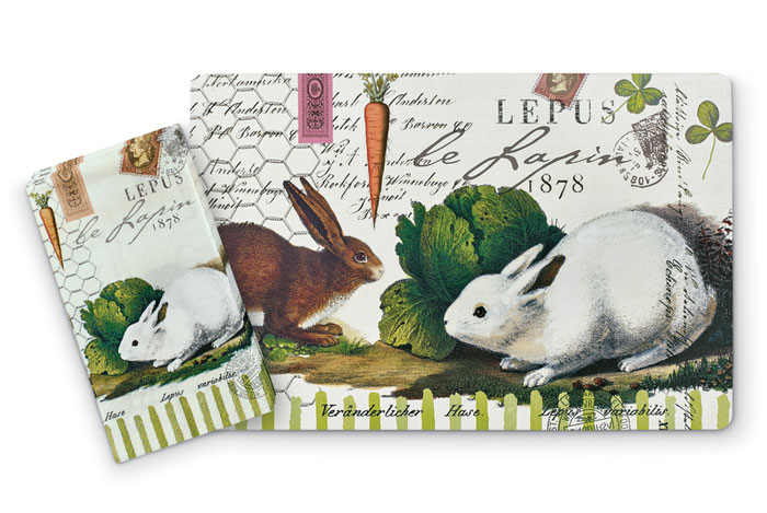 8569: Bunny Placemats (Product Detail)