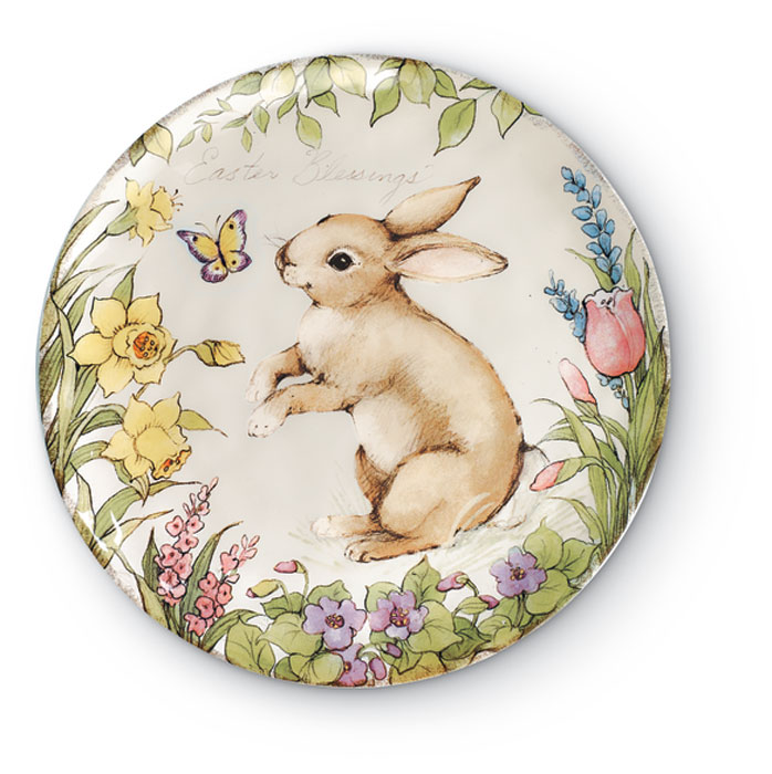 8498: Bunny Cake Plate (Product Detail)