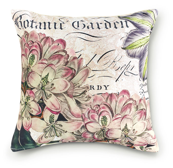 8674: Botanic Garden I Pillow (Product Detail)