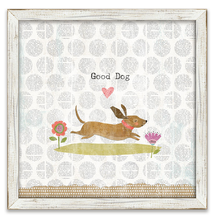 "8706: ""Good Dog"" Wall Art (Product Detail)"