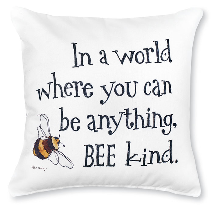 8724: Bee Kind Pillow (Product Detail)