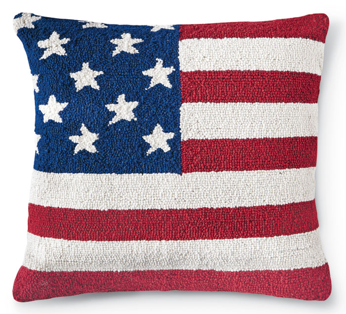 8861: Americana Flag Pillow (Product Detail)