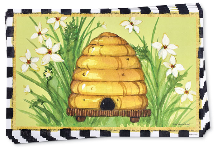 8803: Beehive Paper Placemats (Product Detail)