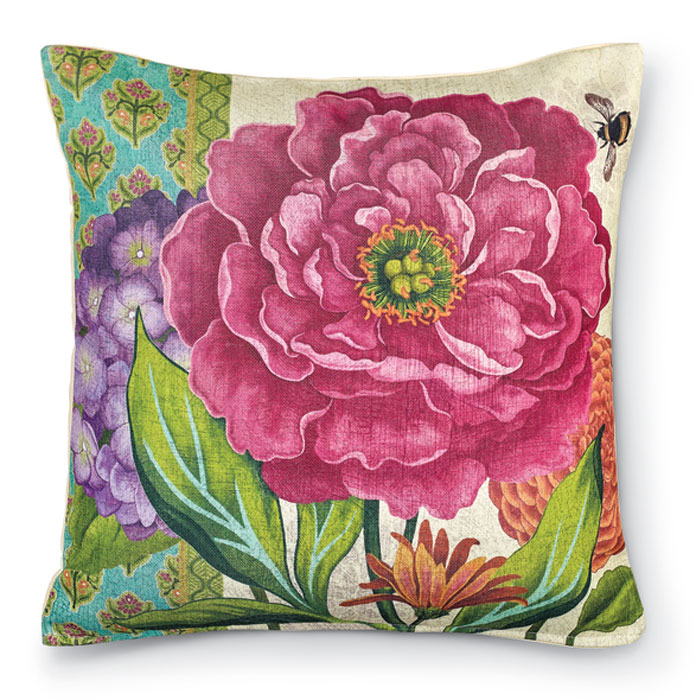 8802: Bold Blossom II Pillow (Product Detail)